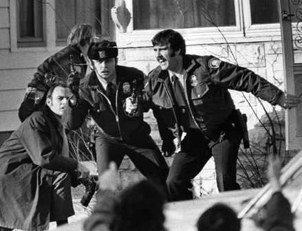 In 1973, Minneapolis police rushed a house to arrest several youths suspected of shooting a store clerk. (Star Tribune file photo)