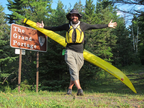Daniel Alvarez at the Grand Portage