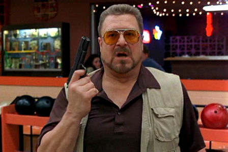 "John Goodman in the Coen brothers' ""The Big Lebowski."""