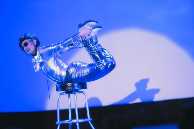"""Sarah Gordon will return with """"Space Oddity"""" in her final performances at """"Dykes Do Drag."""" (photo by Wijadi Jodi)"""