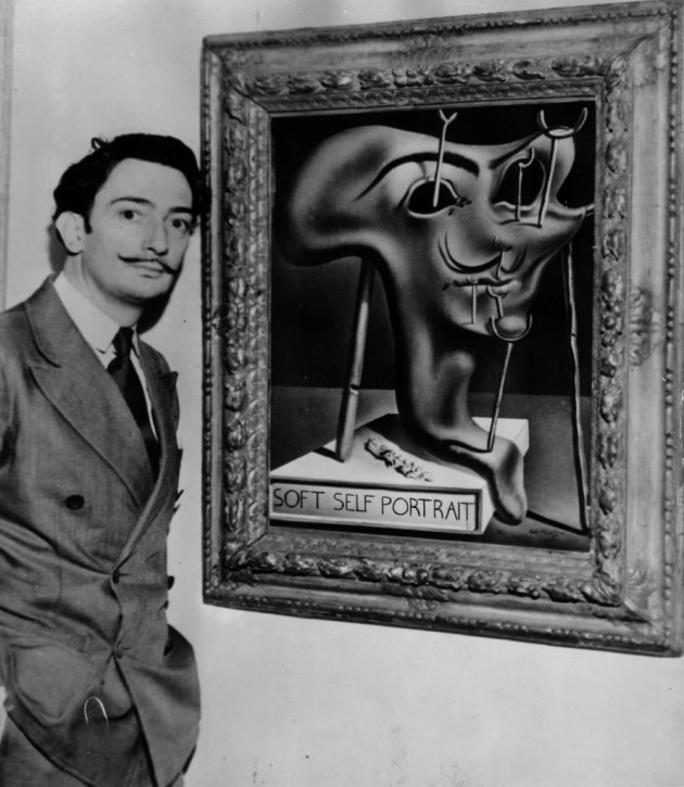 Salvador Dali's mustache is still in Spain, but his art is