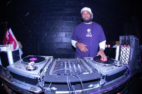 "DJ Verb X spinning at First Avenue's ""Record Room."" (Photo Courtesy of First Avenue and 7th Street Entry)"