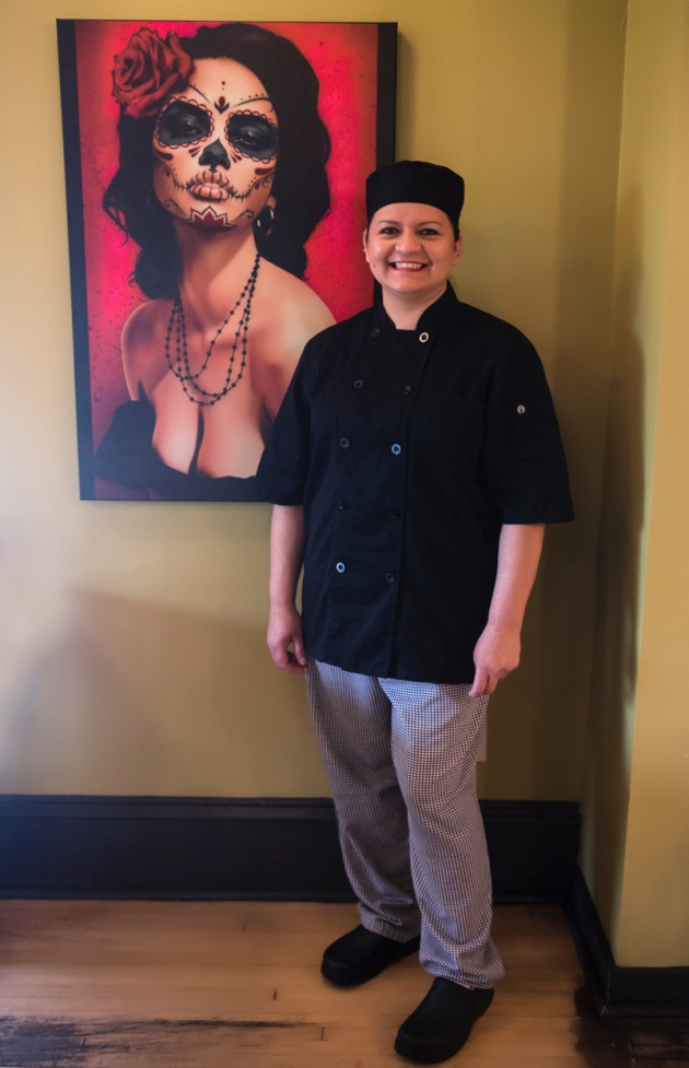 Head chef Blanca Laguna at Nico's Taco and Tequila Bar in Uptown Minneapolis
