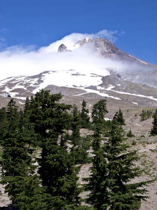 Mount Hood is Oregon's largest mountain and the world's second most climbed mountain