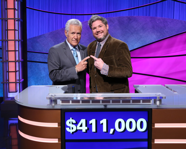 Lovable genius Austin Rogers' reign on 'Jeopardy!' comes to an end