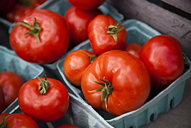 Nothing says summer like fresh tomatoes.