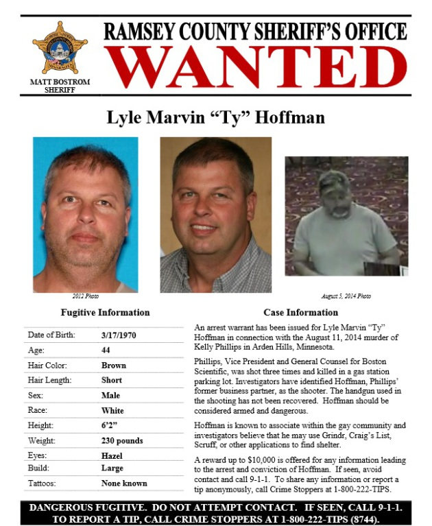 The New Wanted Poster Features A Reward Of Up To $10,000 Offered By Crime  Stoppers And Several Photos Of Hoffman. The Poster Reads That Hoffman  Should Be ...  Criminal Wanted Poster