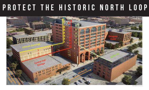 north loop office building appealed after resident says it doesn t