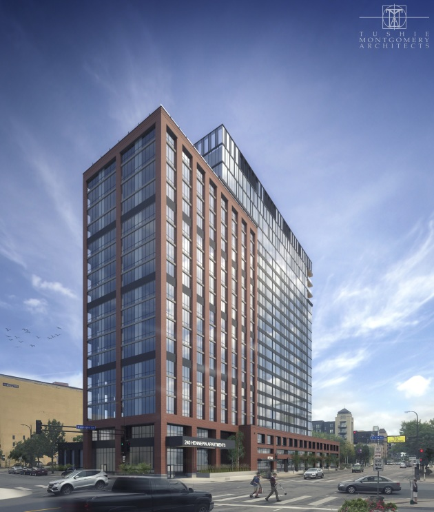 New Images Unveiled For Hennepin Av. Apartment Tower