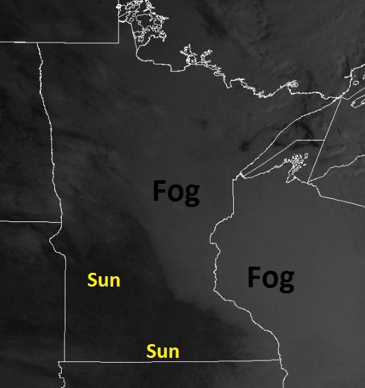 Snowless Foggy Night In Madison >> Paul Douglas Fog 40 A March Like Groundhog Day Reprieve Through