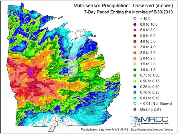 Amazing Weather Whiplash (severe drought drops from 70 to 3% in 90 ...
