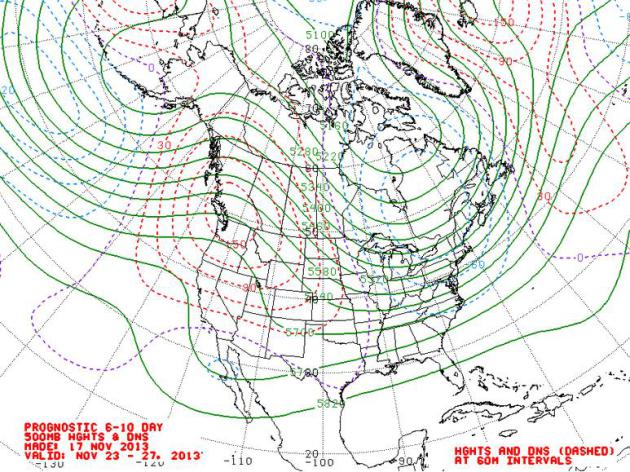 Prevailing Winds Next Week A Persistent Trough Of Low Pressure Forming Over Eastern Canada And The Eastern Usa Will Mean A Cold Bias East Of The