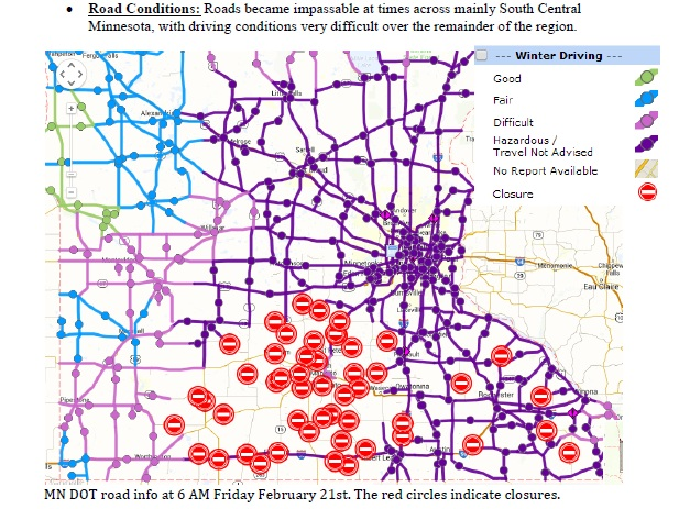 mn roads conditions map with 246678651 on 3647622447 further Winter Storm Cranking Out More Than A Foot in addition Statemap besides Slippery Streets In Duluth Causes Fender Benders On Lake Ave also 2010 11 Satellites.