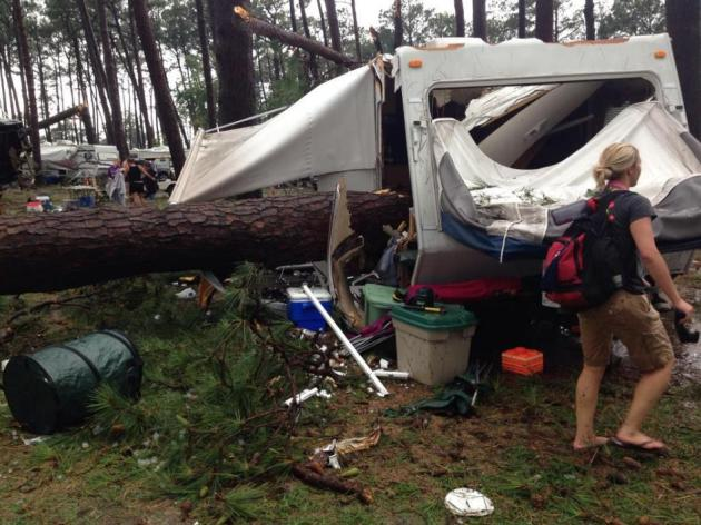 Heating Up Into Saturday – Staying Safe While Camping During Severe Storms – Possible Climate Tipping Point?