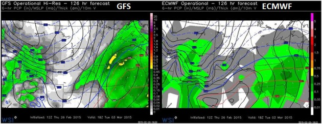 Major Mild Shift in the Pattern Less Than 2 Weeks Away – Snow Event Tuesday?