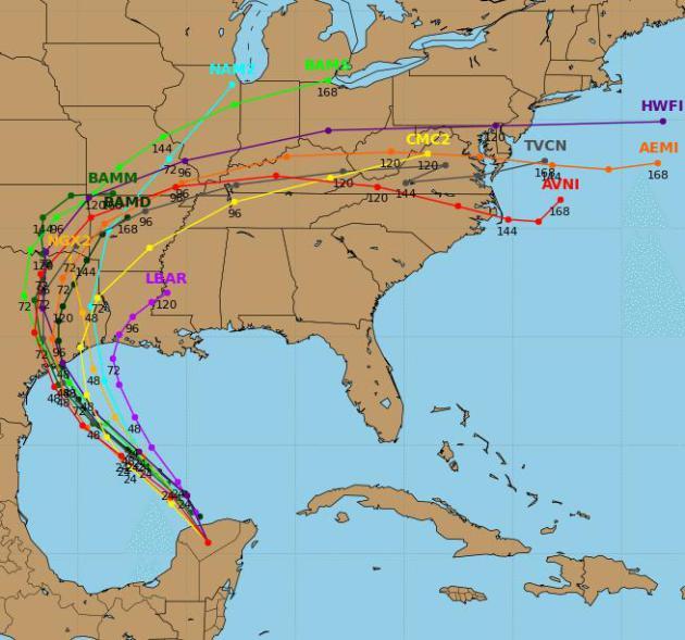 Tropical Storm Bill 2015