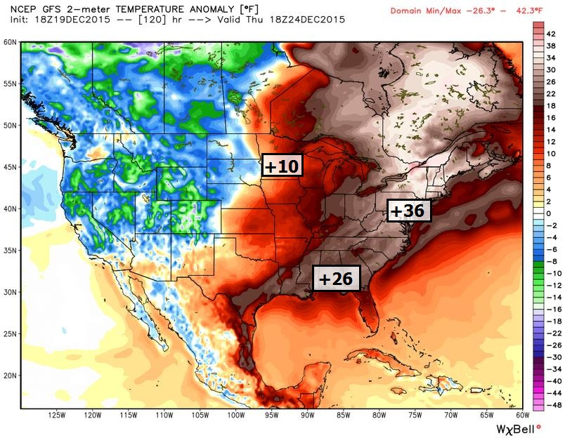 Mild Signal into New Year's Day – Potential for Christmas Day Slop-Storm