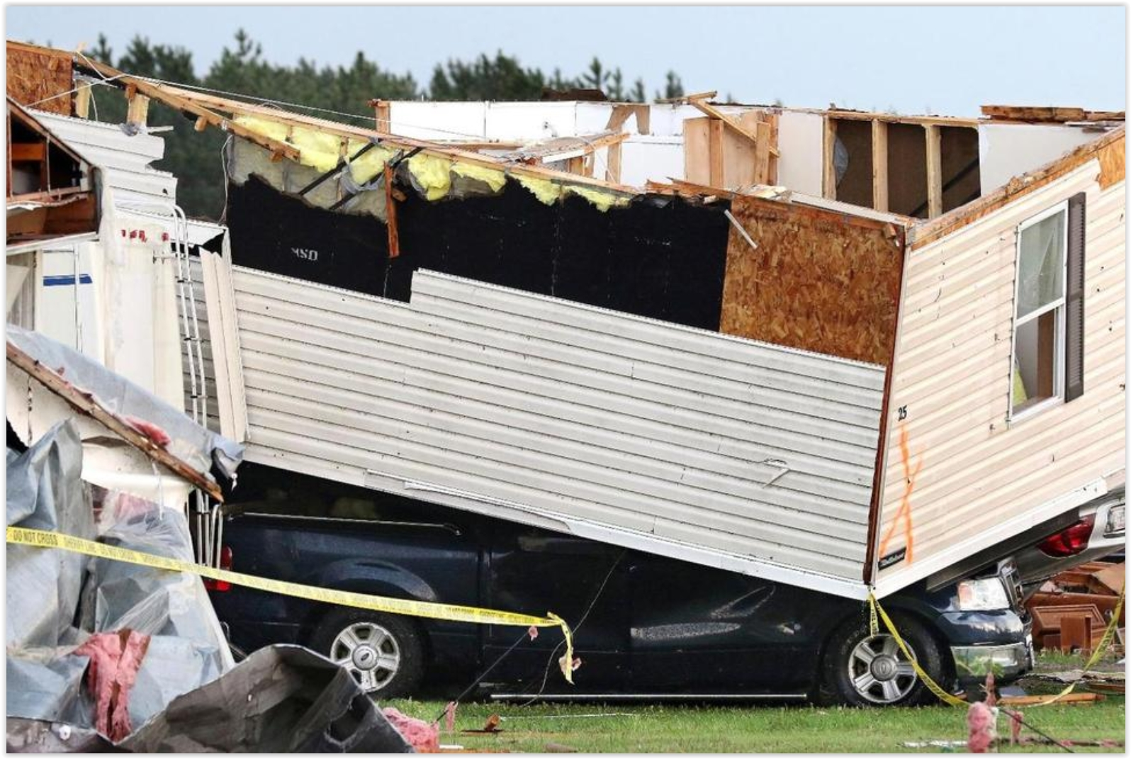 Heres A Clip From US News Update The Red Cross Says Dozens Of People Who Lost Their Homes When Tornado Leveled Trailer Park