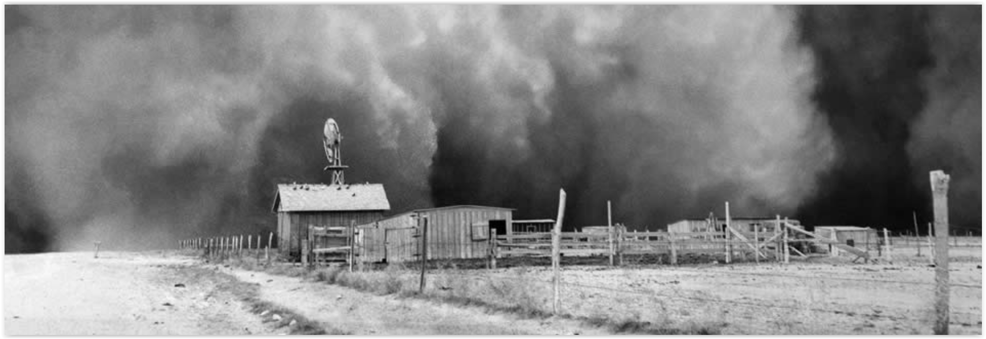 Upi has more perspective on the study referenced above climate change will bring more dust storms to the great