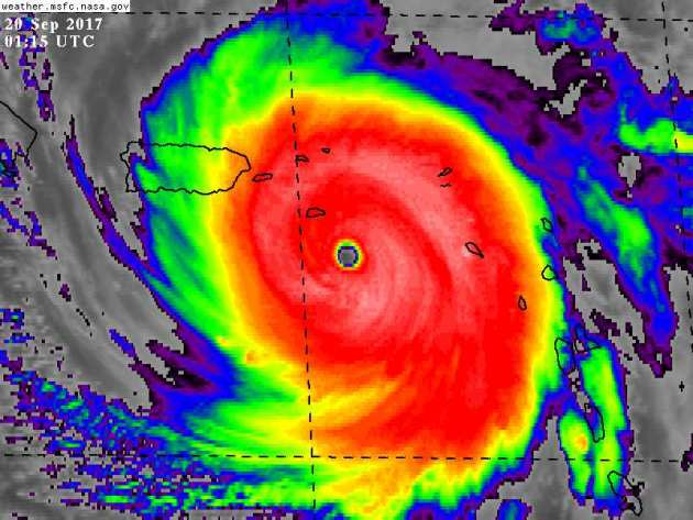 Warming Trend – Catastrophic Category 5 Hurricane Maria Hits Puerto Rico