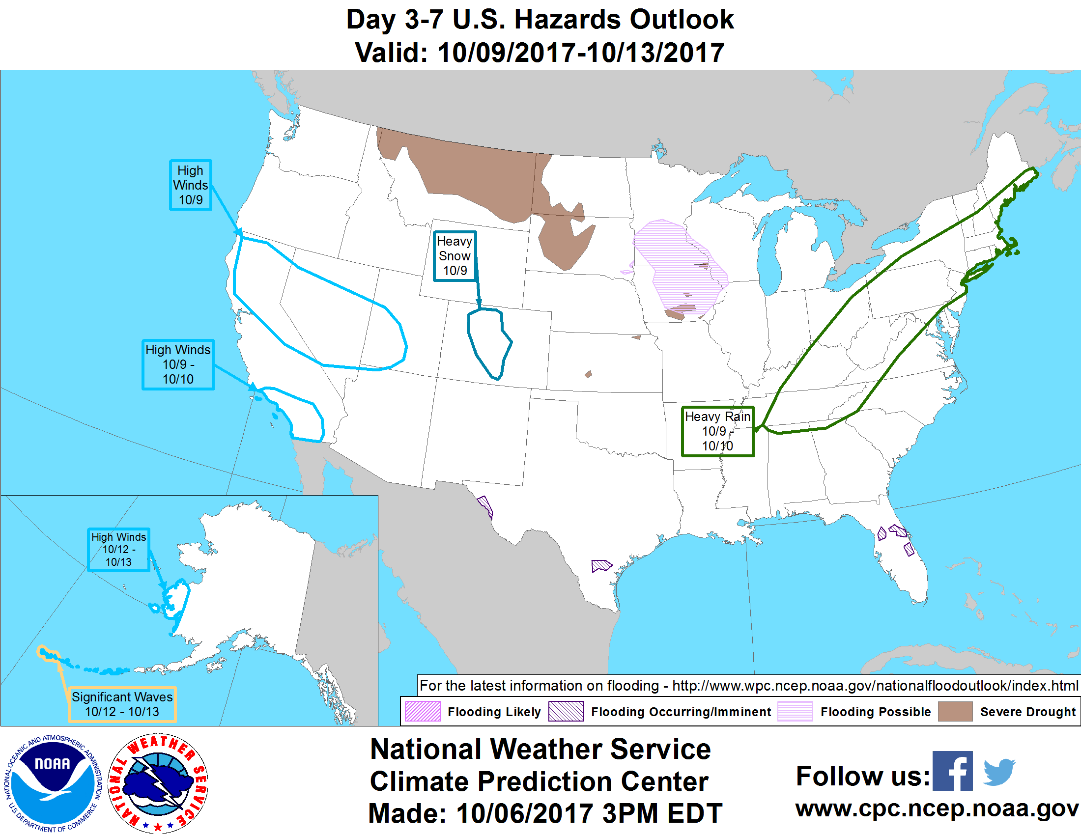 probabilistic hazards outlook