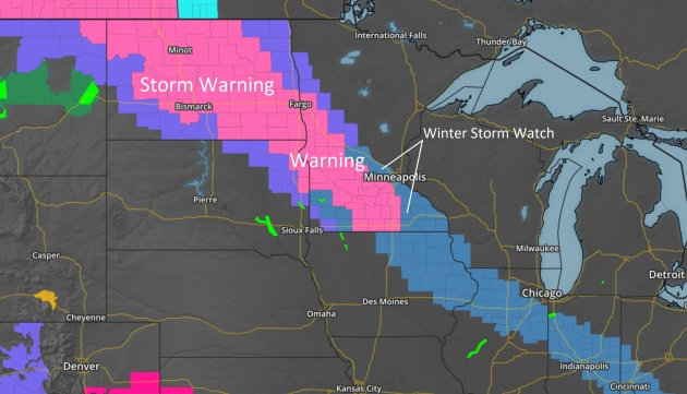 On Edge – Heaviest Snow Band To Set Up South/West of MSP