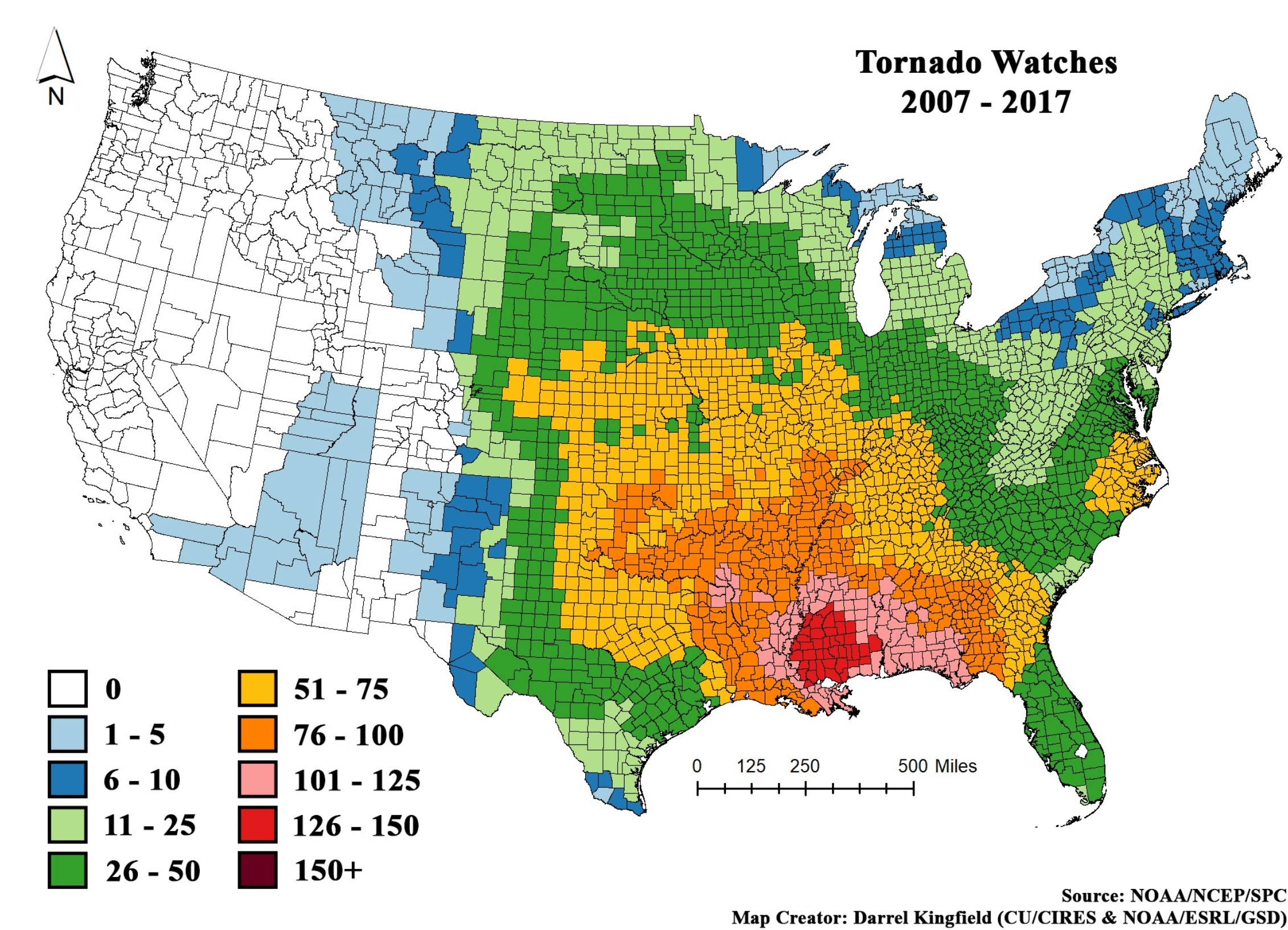 Dangerous Heat Wave Builds Across USA – Most Tornado Watches
