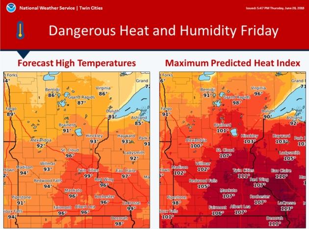 Dangerous Heat Wave Builds Across USA – Most Tornado Watches