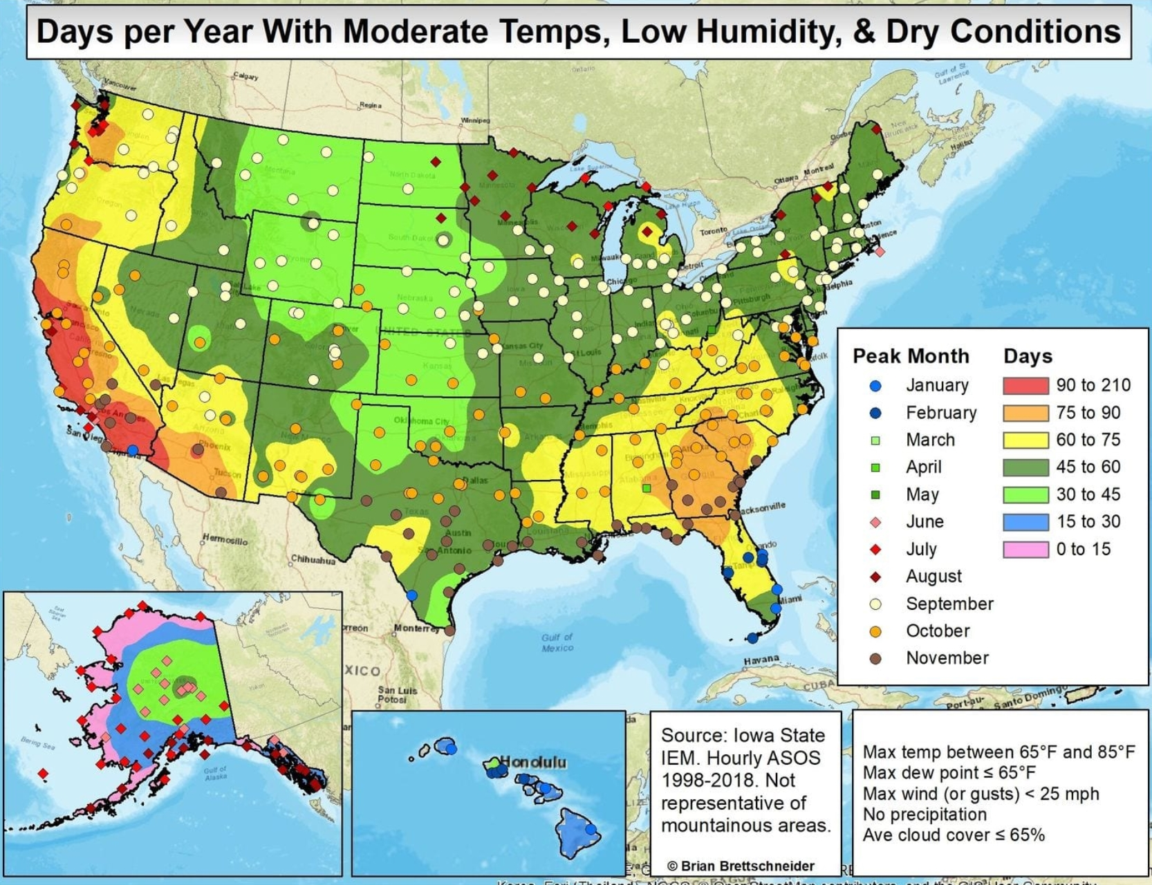 California Smolders - Best Weather Cities in the USA ...