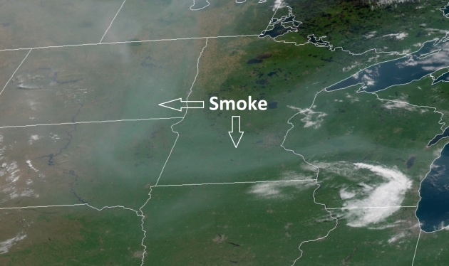 Smoke On The Water Western Wildfire Impacts Reach Minnesota