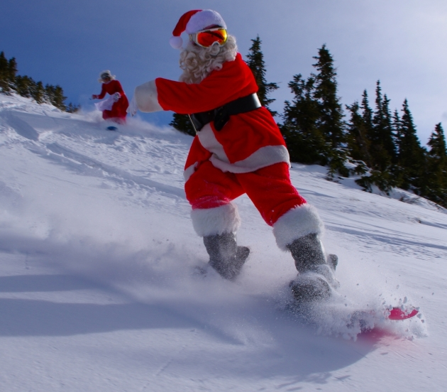 Santa Swaps Sleigh for SUV – Heavy Snow Potential Late Next Week?