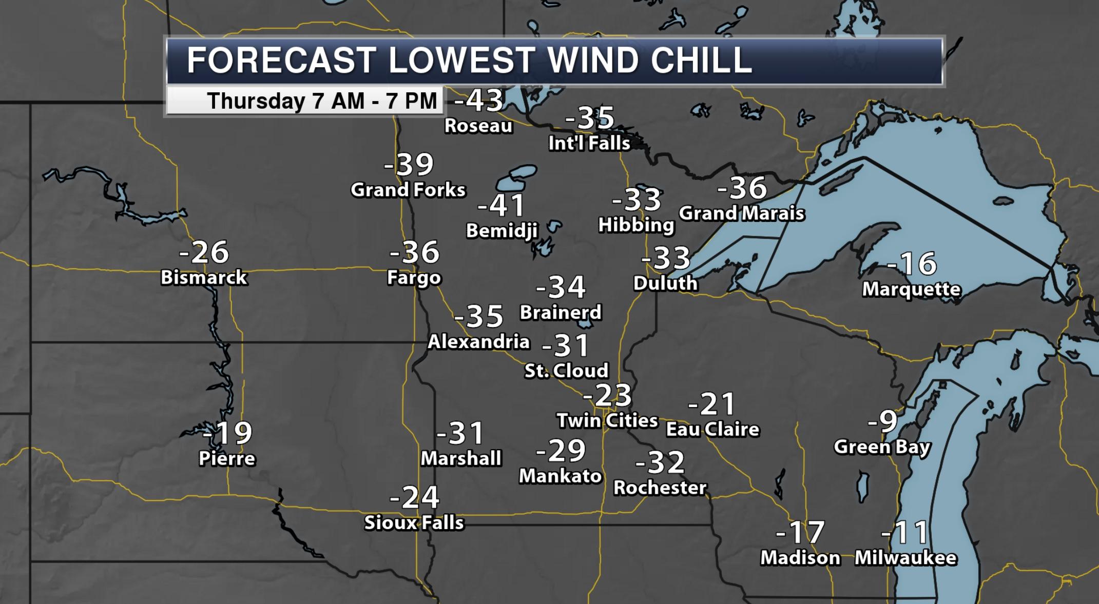 Ground Blizzard Threat Today – Dangerous Cold Intensifies Next Week