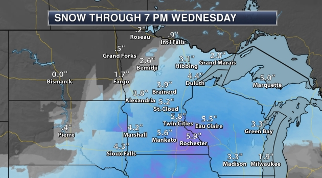 Paul Douglas: Winter Storm Warning, more snow this weekend