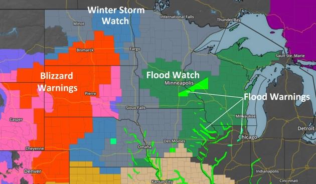 Oddly Shaped Weather Map.Blog Paul Douglas
