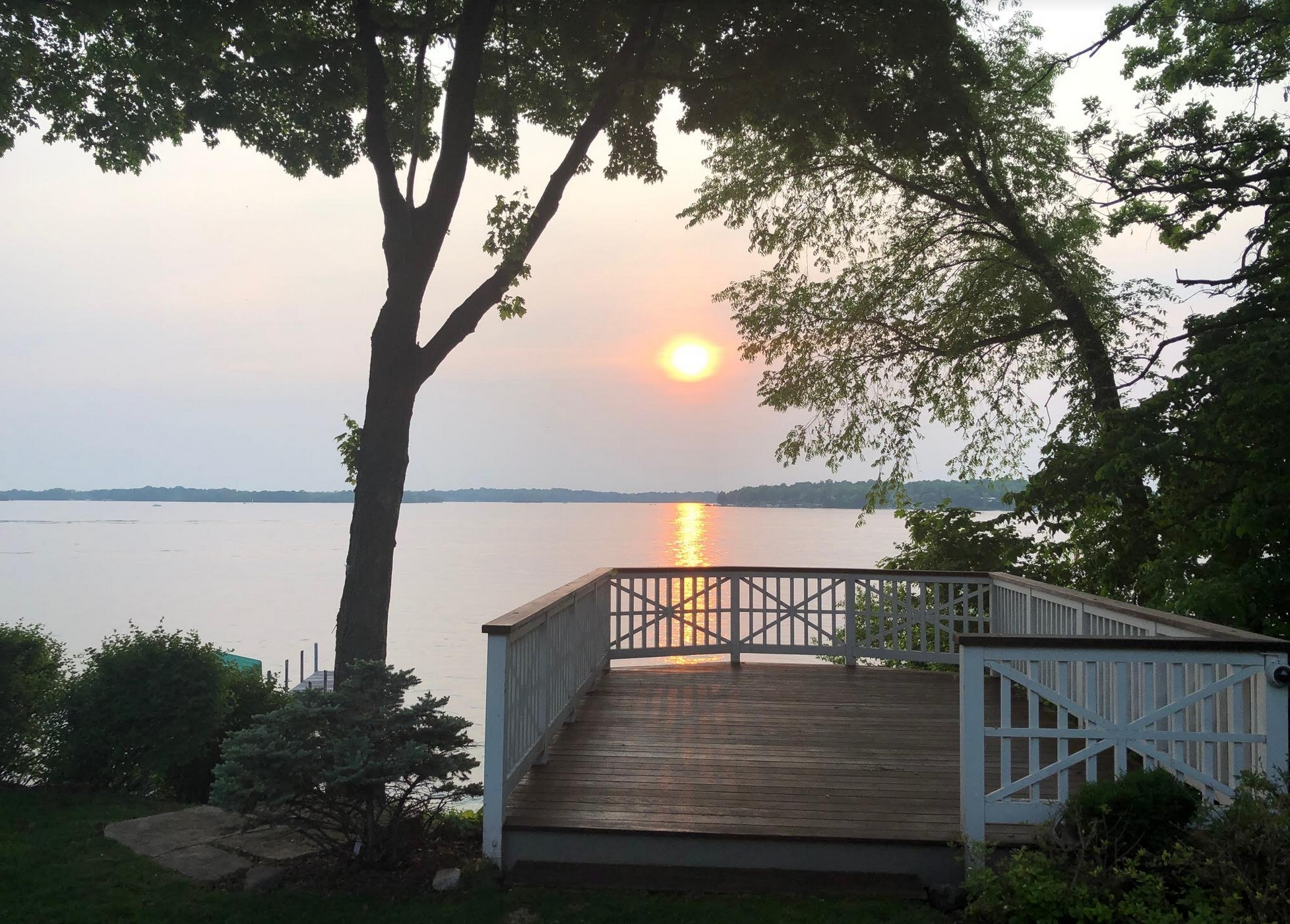 A Rare and Wondrous Hot Front for Friday – Smoky Skies From Canadian Fires