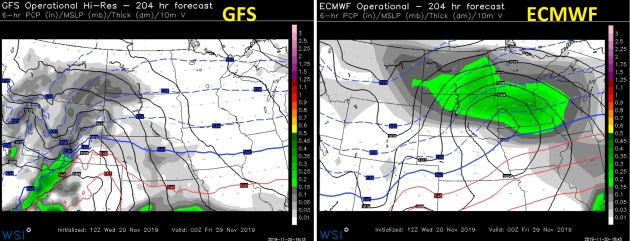 Low Confidence Levels for Storm Timing and Snow Totals Thanksgiving Week