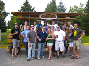 "All 16 of us said we'd ""do the PedalPub"" again!"