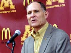 Minnesota athletic director Joel Maturi