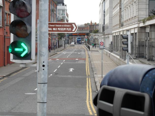 An average road in Dublin