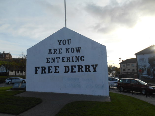 The Free Derry mural