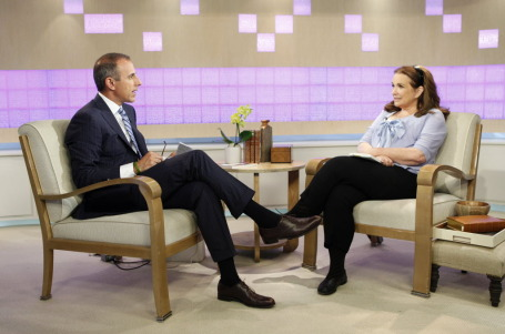 Matt Laurer and Elizabeth Edwards on the &quot;Today&quot; show.