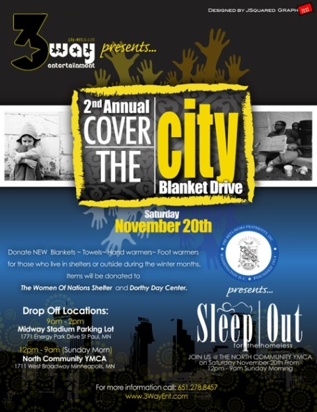 Cover the City Flyer