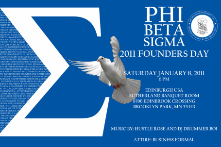 Founder's Day Flyer