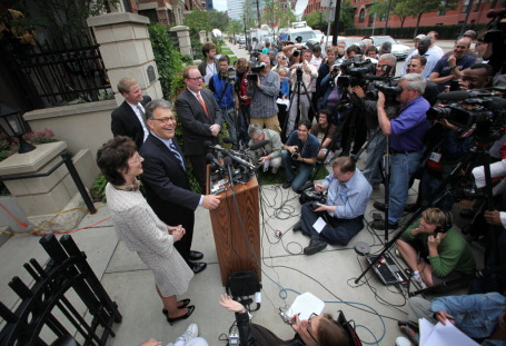 Franken on June 30, 2009/Source: Star Tribune file