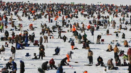 The 19th annual ice fishing event in Brainerd/Star Tribune file
