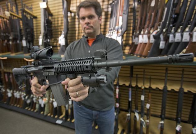 Gun sales went up after the Newtown school shooting