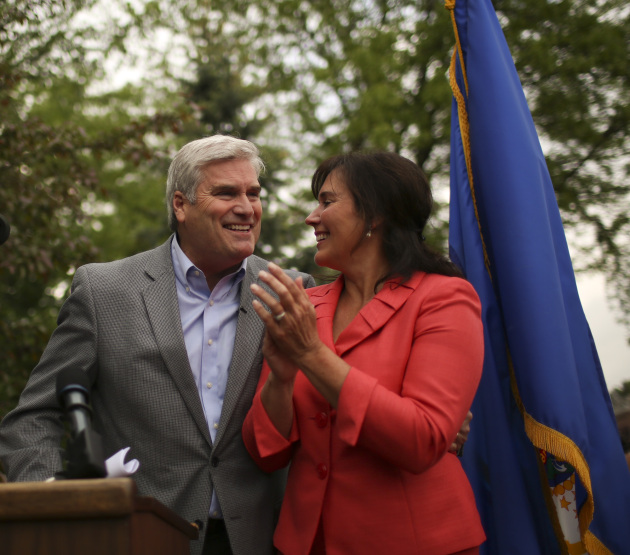 Tom Emmer as he announces his congressional run//Jeff Wheeler