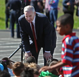 Gov. Mark Dayton in May