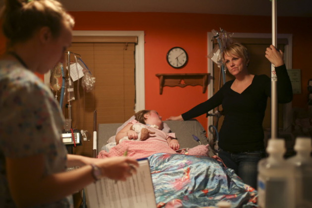 Leslie Anderson's daughter, requires round the clock nursing care due to complications from moyamoya disease. One of the nurses had been charged with child maltreatment for having a meth lab in her home. Anderson learned about it after the nurse had been fired for stealing her daughter's oxycontin.