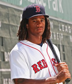 Photo via WEEI, courtesy of Red Sox